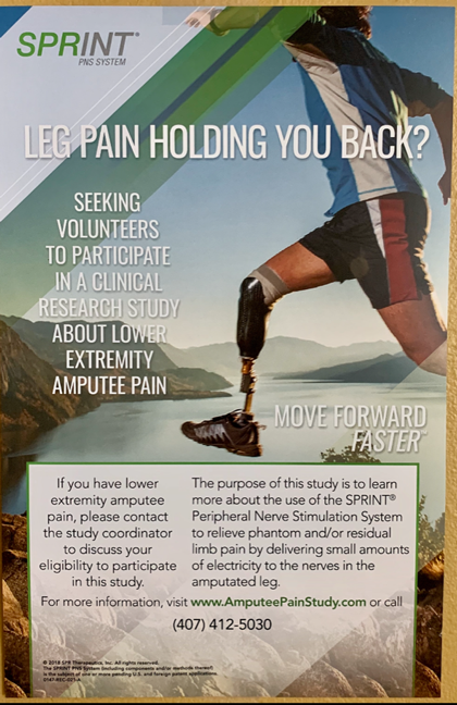 amputee pain relief
